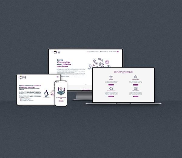 Création d'un site internet pour le CIMIPARIS