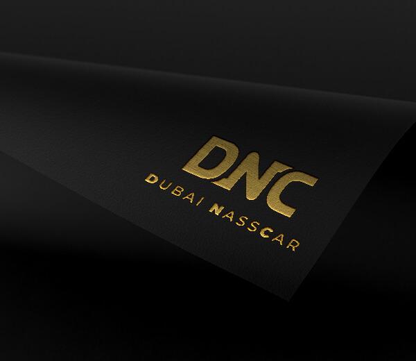 Création de logo pour Dubai Nass Car location de voiture de luxe à Dubaï
